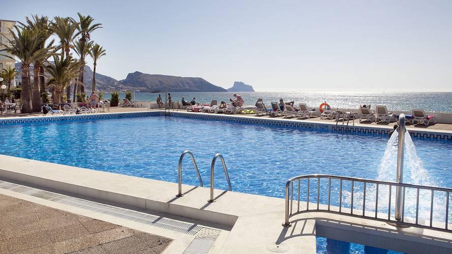 Utomhuspool Hotell Cap Negret Altea, Alicante