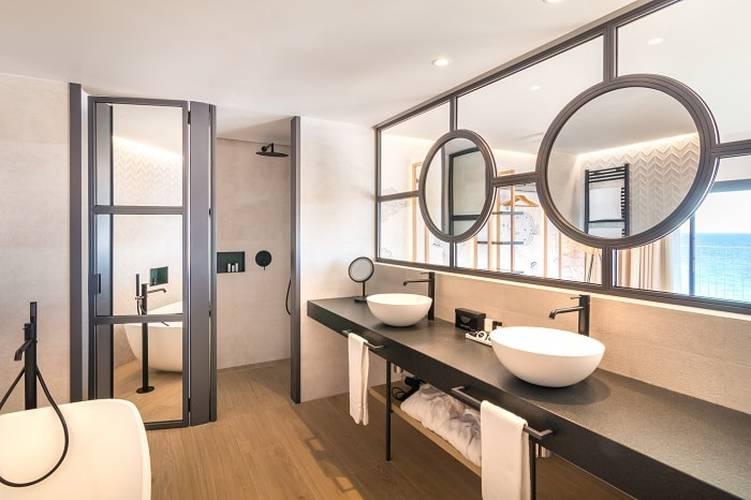 Badrum Hotell Cap Negret Altea, Alicante