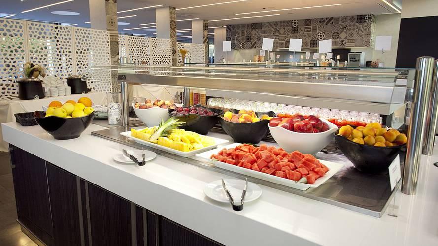 Frukostbuffé Hotell Cap Negret Altea, Alicante