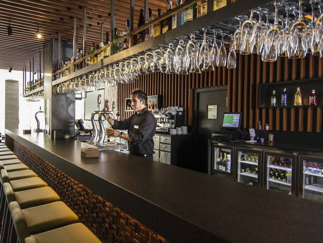Bar hotell cap negret altea, alicante