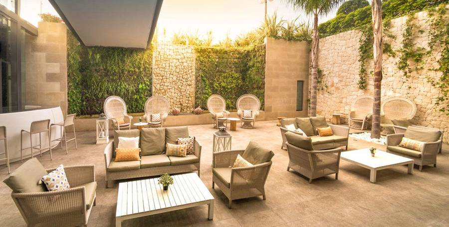 CHILL OUT-TERRASS PATIO RIU ALGAR Hotell Cap Negret Altea, Alicante